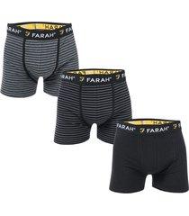 mens admirality 3 pack boxer shorts