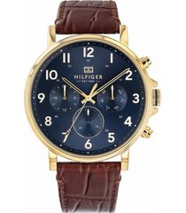 reloj marrón tommy hilfiger 1710380 - superbrands