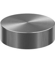 acionamento torneira para banheiro mesa recartilhado mix&match grafite escovado - 00917170 - docol - docol