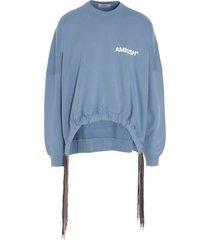 ambush multicolored drawstring sweatshirt