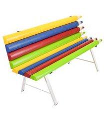 banco rotoplas brasil lápis divertido colorido