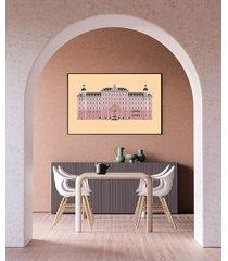 grand budapest hotel - plakat 50x70 cm