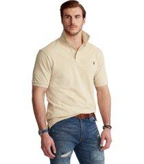 polo ralph lauren men's big & tall classic-fit cotton mesh polo