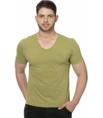 camiseta alfaiataria burguesia metalist verde militar - verde - masculino - algodã£o - dafiti