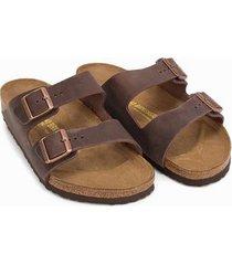 birkenstock arizona habana sandaler & flip flops brun
