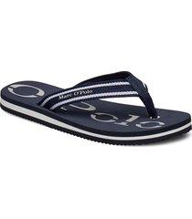 clara 1 shoes summer shoes flip flops blå marc o'polo footwear