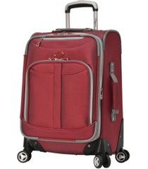"""olympia usa tuscany 21"""" expandable carry-on spinner"""
