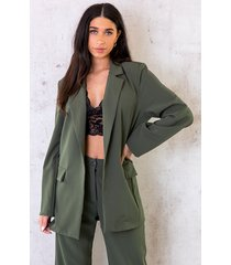 ultra oversized blazer army