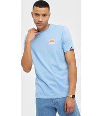ellesse el canaletto tee-shirt t-shirts & linnen light blue