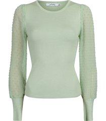 ambika blouse groen m12292-1