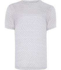 t-shirt masculina estampada orla - cinza