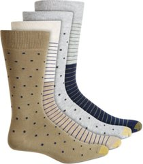 gold toe men's 4-pk. crew socks