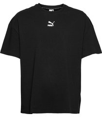 classics boxy tee t-shirts short-sleeved svart puma