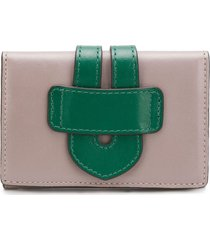 tila march two-tone wallet - grey
