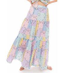 bandanna cotton skirt