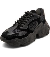 sneakers total black lorena herrera