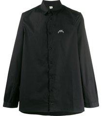 a-cold-wall* oversized logo shirt - black