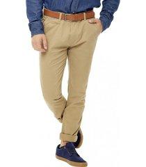 pantalón marrón corona