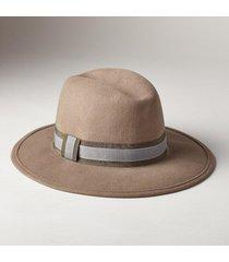 wool felt luxury med brim hat