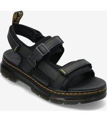 forster shoes summer shoes sandals svart dr. martens