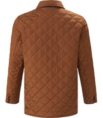 gewatteerde jas met gewatteerde contrastvoering van lodenfrey goudkleur