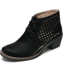 botín moda dama tellenzi pb603 negro