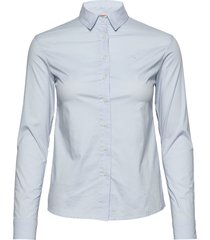 w gale shirt långärmad skjorta blå sail racing