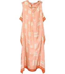 dabores geometric overlay dress