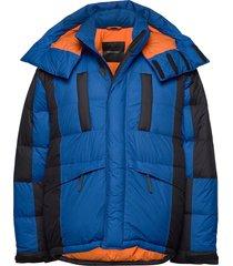 m x.9 polaro jacket artic blue gevoerd jack blauw peak performance