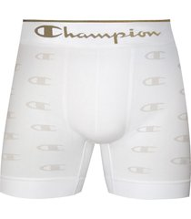 cueca boxer champion c logo 2836 branco - kanui