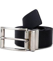 cinturón doble faz negro-café colore