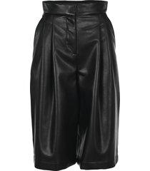 philosophy faux leather bermuda