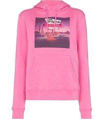 pink las vegas motel hoodie