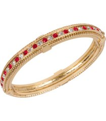 grace kelly collection 18k gold plated the approval bracelet