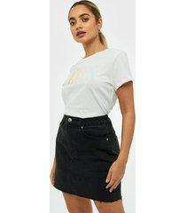 gina tricot vintage denim skirt minikjolar