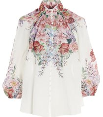 zimmermann bellitude floral dress