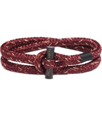 pig & hen men's tiny ted bracelet