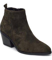 ankle boot shoes boots ankle boots ankle boot - heel grön gabor