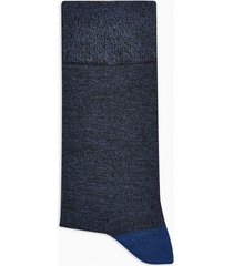 mens multi navy and black twist socks