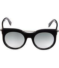 core 52mm cat eye sunglasses