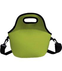 lancheira bolsa térmica marmita fitness lfante - 30 cm altura x 30 cm comprimento x 18 cm largura