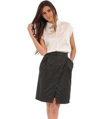 falda color siete para mujer