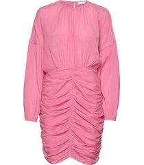 rodebjer adilah jurk knielengte roze rodebjer