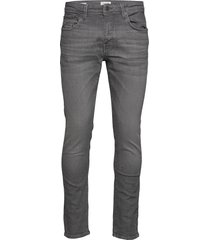 slhslim-leon 6213 mgr su-st jeans w noos slimmade jeans grå selected homme