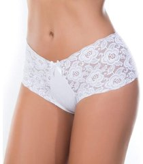 calcinha cherry moda intima bã¡sica branca - branco - feminino - dafiti