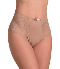 calcinha vip lingerie hotpant - bege