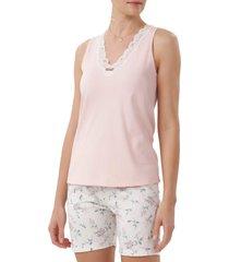 pijama cor com amor 12382 - rosa - feminino - dafiti