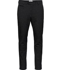 como pinstripe suit pants kostymbyxor formella byxor grå les deux