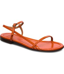sandals 4132 shoes summer shoes flat sandals orange billi bi