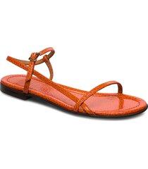 sandals 4132 shoes summer shoes flat sandals orange billi bi